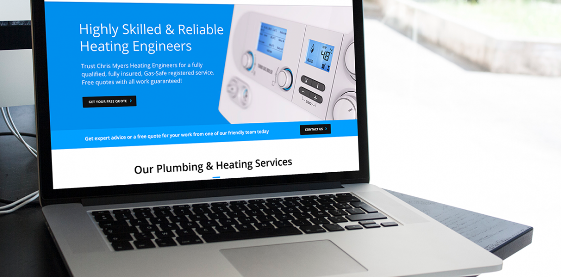 Chris Myers Heating Engineers Website
